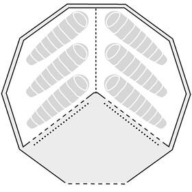 Robens Klondike Grande - Accesorios para tienda de campaña - beige/gris